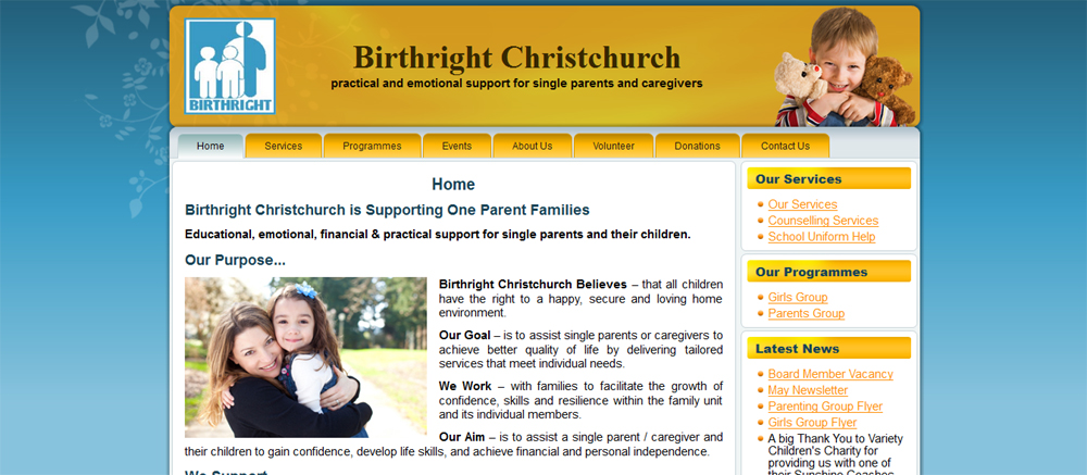 webdesign birthrightchch